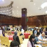 Hotel restaurant during Iftar Buffet