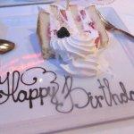 Strawberry Shortcake Happy Birthday, , Bistro Napa, Reno, Nevada