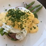 Eggs benedict ham was beautiful, best cafe in town thank you