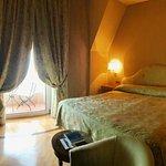 Junior Suite Seaview. Bedroom