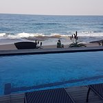 Picture taken from the Canelands pool deck facing the beach.