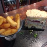 BBC Sandwich and fat chips...yummmooo!