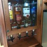 In-room alcohol dispenser