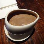 Hot chocolate in cutesy cup