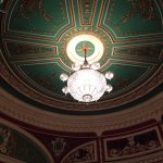 The ceiling, Gaiety Theatre
