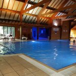 Bannatyne pool area, further you can enjoy jacuzzy, sauna on the left and steam room on right.