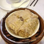 Bean curd rolls stuffed with meat