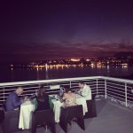 Evening dining on the roof top of hotel Split