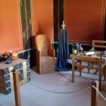 reconstructed rooms in the painters house