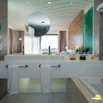 The bathroom Deluxe room
