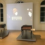 Ausstellung alter Musikinsturmente