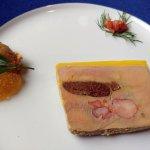 Foie gras au homard