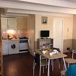 grand espace kitchenette séjour