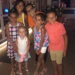 The lovely Leona with my five :-) They miss you Leona! Thank you for making their holiday XXX