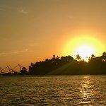 Sunset and the Chinese fishing net