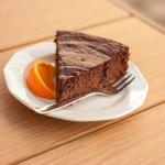 Ciasto czekoladowo pomarańczowe