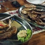 The mixed grill... I'm drooling just looking at it again!