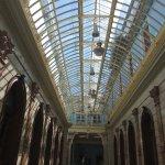 Real Casino de Murcia: Galería central acristalada.