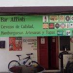 Sign outside Bar Allioli