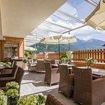 Terrasse im Restaurant Zillertaler Hof