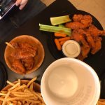 Buffalo wings at Duff's Sheridan