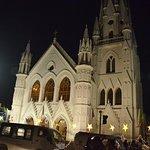 The church on Christmas Eve