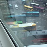View from Room 229. Every bus beeps when reversing