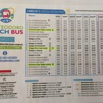 horaires Beach Bus