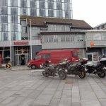 Marktplatz als Parkplatz