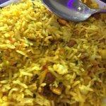 Lemon 🍋 and cashew nut rice