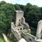 Photo de Choustnik Castle Ruins