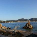 plage très agréable et très tranquille. Les plagistes sont super sympas