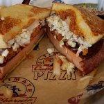 The best bolonga sandwich its 1/2 pound piece of bolonga we done ours Carolina style
