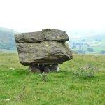 Norber Erratics rocks balancing