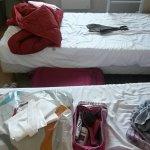Winziges 3-Bett-Zimmer