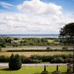 View over the Wirral and River Dee Estuary