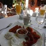 Breakfast at Le Jardinier, Royal Caribbean