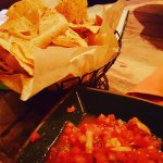 "Chunky Salsa and Fresh ""Chips"""