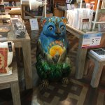 Bear in the museum shop!