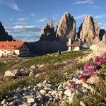 Dreizinnenhütte, Rifugio Antonio Locatelli Foto
