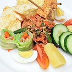 MUST TRY! Dish name: Gado Gado