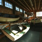 Our Preservation Boat Shed houses our collection of traditional small craft, such as the beetle