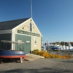The museum is located right on the Hyannis Harbor, giving you a look at local history in the mak