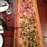 metre long pizza