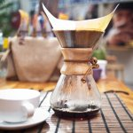 The Chemex is one of our favorite ways to brew coffee.