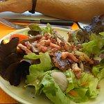 salade de gésiers et lardons