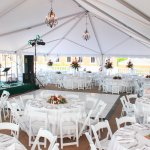 Terrace for wedding