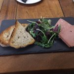 The pate that looked and tasted like ti had come out of a packet