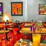 My colourful take on the restaurant.