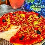 Siciliana pizza.